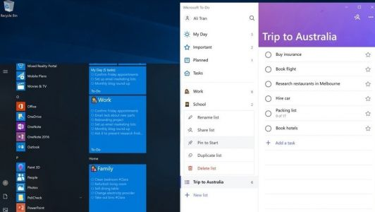 Microsoft To-Do gets an overhaul to help you keep your new year's resolutions