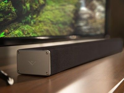 Vizio's Bluetooth sound bar comes with a $25 gift card and $15 discount