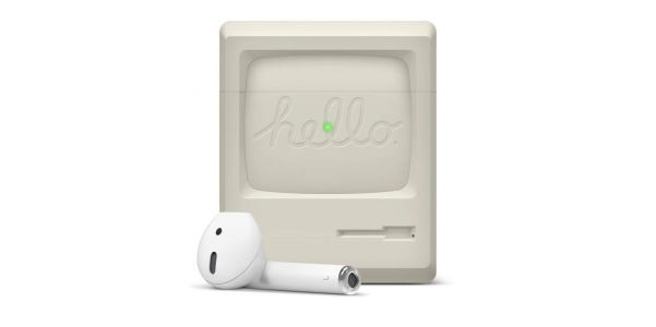 Elago recreates the iconic 1984 Macintosh with new AirPods case