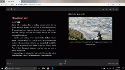 Windows 10 Tip: Get more out of reading online with Grammar Tools in Microsoft Edge