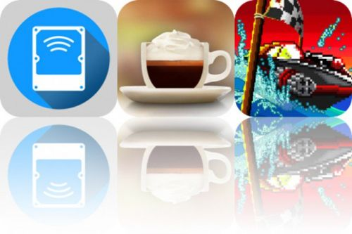 Today's Apps Gone Free: Remote Drive, The Great Coffee App and Pixel Boat Rush