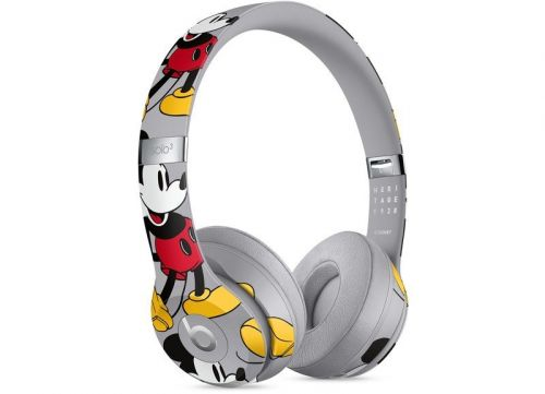 Apple Debuts Limited Edition Mickey Mouse Beats Solo 3 Wireless Headphones Created in Collaboration With Disney
