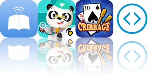 Today's Apps Gone Free: SmartBook, Dr. Panda Hospital, Cribbage HD and More
