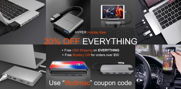 Get Hyper's new iPad Pro USB-C hub + battery packs, wireless chargers and more 20-40% off