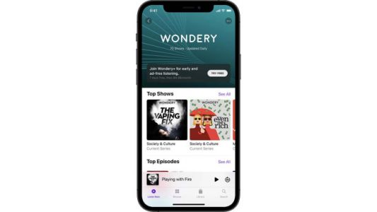 Amazon-Owned Wondery+ to Launch on Apple Podcast Subscriptions