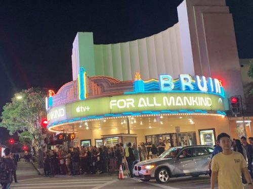 Apple hosts Hollywood premiere for its Apple TV+ space drama 'For All Manki