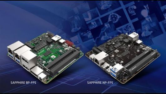 Sapphire Announces Two 4x4 AMD Ryzen Embedded Motherboards