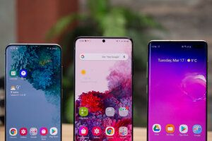 The Galaxy S20 5G series is nowhere near as popular as the Galaxy S10