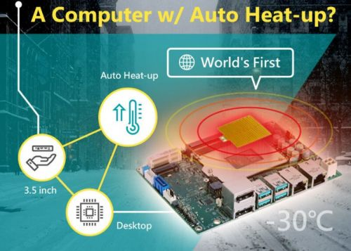DFI mini PC features unique Auto Heat-Up for extreme weather applications