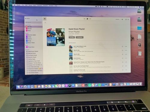 Create a smart playlist to sync all Apple Music songs in your Mac's library
