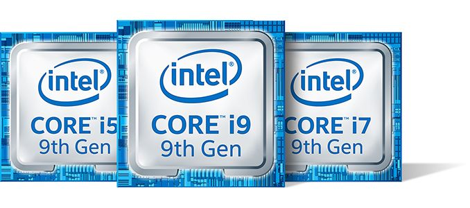 Intel Details New 9th Gen CPUs for Notebooks: i9-9980HK to i5-9300H