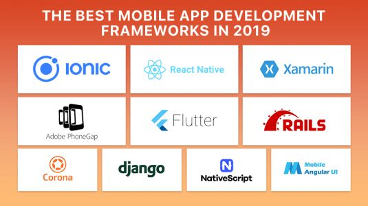The Best Mobile App Development Frameworks in 2019