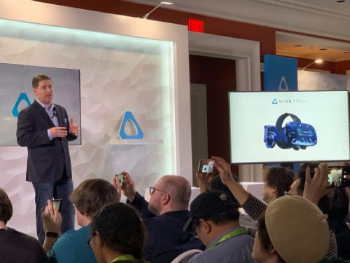 HTC debuts Vive Pro Eye with integrated eye tracking hardware for VR