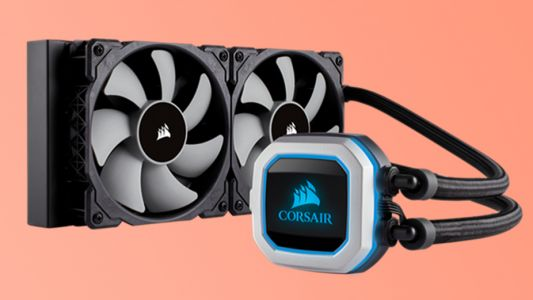 Corsair's newest silent liquid-cooler adds even more RGB lighting to your PC