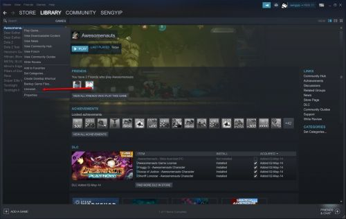 How To Uninstall Steam Games