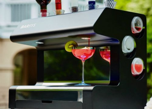 Barsys robot bartender uses AI to mix cocktails for $1,500
