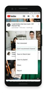 YouTube Allows Users More Control Over Suggested Videos