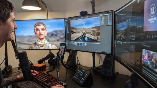 A new app will let developers capture faces for Unreal Engine in real-time