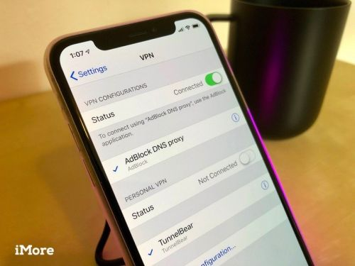 Configuring VPN access on your Apple mobile device