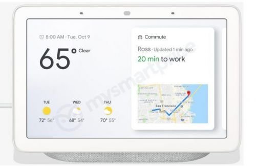 'Google Home Hub' is Google's first-party Smart Display, leaks in new renders