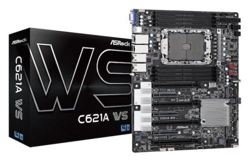 ASRock Unveils C621A WS Motherboard, Designed for Xeon W-3300 Workstations