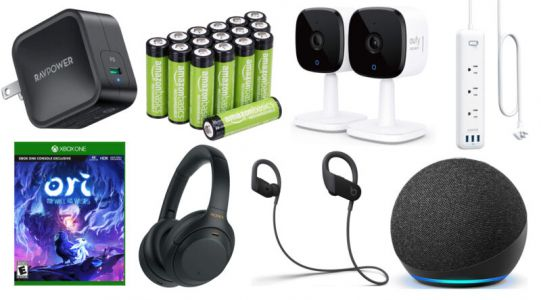 Today's best deals: Lots of video games, rechargeable batteries, and more