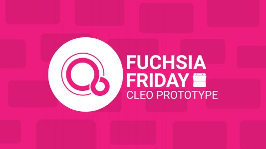 Fuchsia Friday: 'Cleo' prototype likely a smart clock