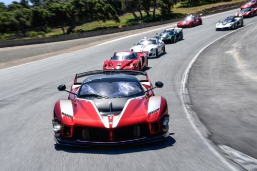 If you're crazy rich, you can pay Ferrari to be a test driver