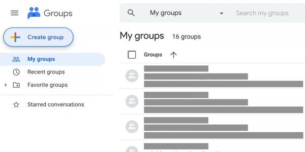 Google Groups gets a new logo following last year's Material Theme redesign