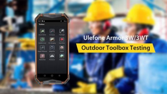 Ulefone Demos Tools That Come Pre-Installed On The Armor 3W & 3WT