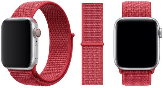 Apple Watch Gains New RED Sport Loop
