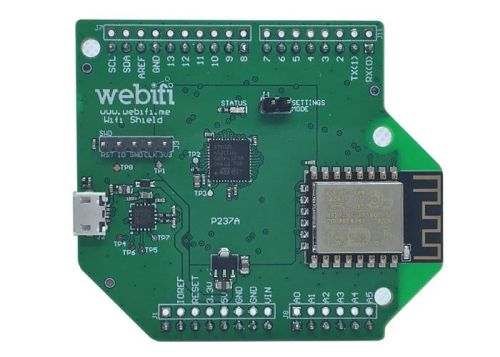 Webifi Connect And Shield Connect UART Devices To Software With Ease