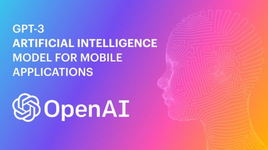 GPT-3 Artificial Intelligence Model for Mobile Applications