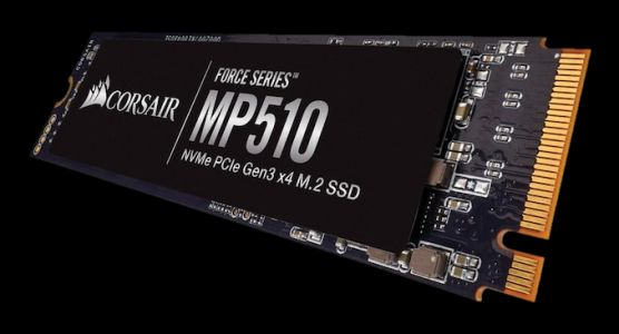 Corsair Launches Force Series MP510 NVMe SSD