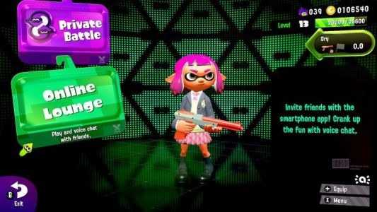 If you play online with friends in Splatoon 2, your choices are now limited