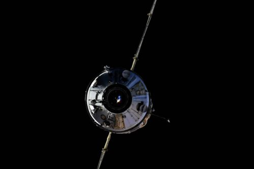 Russian module suddenly fires thrusters after docking with space station
