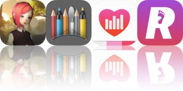Today's Apps Gone Free: BrightRidge, Snap Markup, FitDash and More