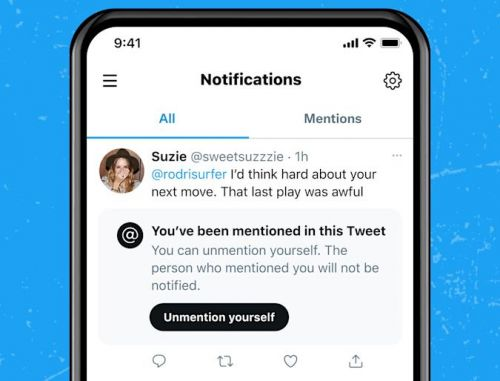 Twitter May Let You 'Unmention' Yourself in Tweets and Prevent You From Being Tagged in Future Replies