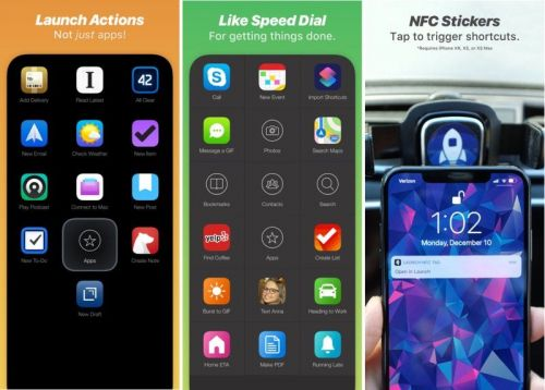 Launch Center Pro Gains NFC Triggers, New Themes, Siri Shortcuts Support and More