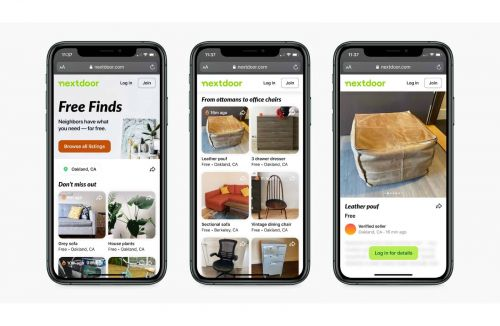 Nextdoor Free Finds Will Let You Quickly Find Free Stuff In Your Neighborhood