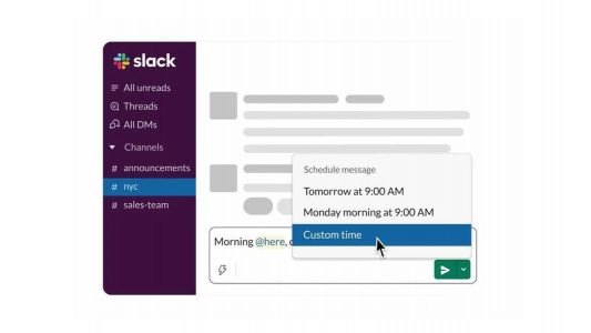 Slack launches new Scheduled Send feature, here's how it works