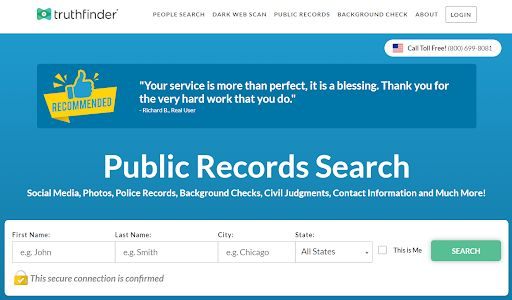 TruthFinder Overview: Looking Deep into Background Checker