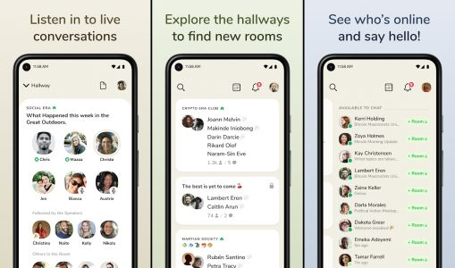 Clubhouse finally launches its beta app for Android, but remains invite-only