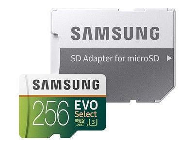 Grab Samsung's 256GB Evo Select microSD card for its lowest price ever