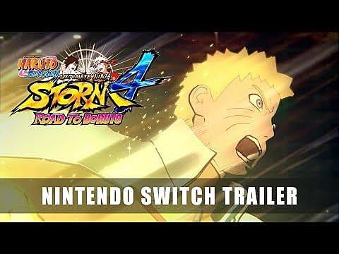 Naruto Shippuden: Ultimate Ninja Storm 4 on Switch Gets Pre-Order Bonuses