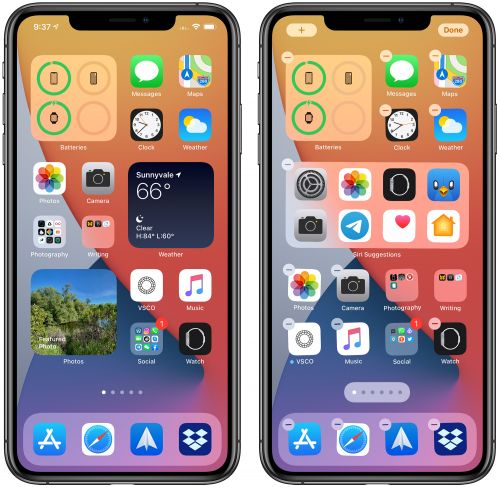 How to Create a Widget Stack in iOS 14