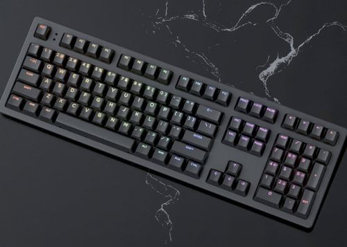 Keystone mechanical keyboard with analog control switches and more