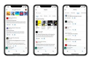 Google redesigns Podcasts app, brings it to iPhones and iPads