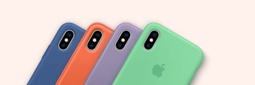 Try on one of Apple's new iPhone XS case colors