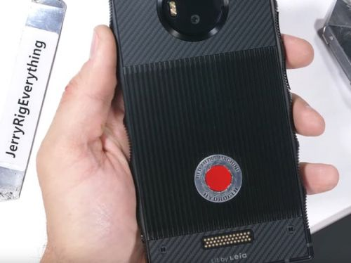 RED Hydrogen One smartphone gets torture tested